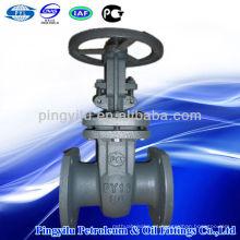 Gost estándar de acero fundido válvula de puerta Z41H-16C DN50-DN600 hecho en China