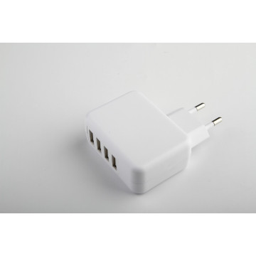 4 USB ports phone charger 5V4.8A  each 2.4A max