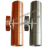 New design stainless steel or solid copper led outdoor up and down wall light