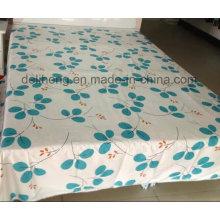 Twill Weave de alta qualidade 100% algodão impresso Bedsheet tecido