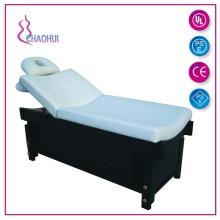 PVC hölzernes Schönheitsbett mit Atemlochkissen