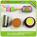 Westen Fast Food Eraser Collection