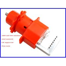 Dispositif de verrouillage de la valve papillon à grande taille avec CE approuvé V22