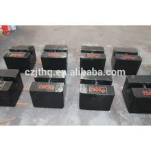 20kg/100kg/200kg/500kg/1000kg cast iron weights/ test weight/stainless steel weights