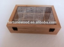 Christmas gfit good smell bamboo packaging box