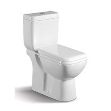 040A WC de cerámica de dos piezas con tapa de armario lento