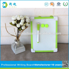 New children mini magnetic green frame drawing board christmas whiteboard