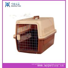 Plastikhandgriff Haustier-Fördermaschine Plastikhundekiste-Zwinger