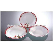 Vaisselle de vaisselle pour hôtellerie et restaurant chic