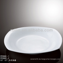 Beliebtes weißes Porzellan-Ofen sicheres Hotel-Geschirr