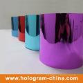 Folha de gravação de holograma evidente inviolável