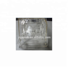 Metal Insert Over mold Auto Parts Mould PC Clear For Lamp Housing