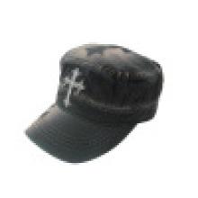 Capuchon militaire lavé avec logo (MT15)