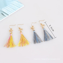 Fashion Jewelry Fabric Earrings with Star