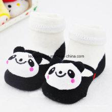 Детские носки головой животного дизайн Анти-скольжения 3D детские носки