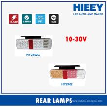 2015 vente en gros lampe de remorque LED lampe arrière lampe stop lampe arrière lumière