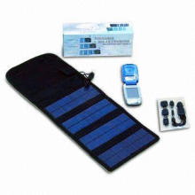 Canvas Solar Charger, Charge for Automobile, Charge for Moblie Phone
