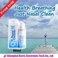 Costume pour la rhinite allergique Spray nasal physiologique à l'eau de mer
