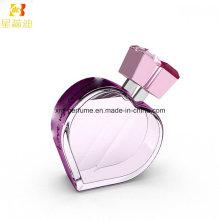 Perfume en forma de corazón de las mujeres de OEM / ODM 50ml