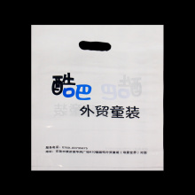 Die Cut Packaging Plastic Shopping Bag