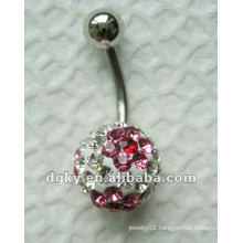 Stainless steel body piercing jewelry,Fancy navel ring jewelry