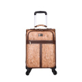 Custom PU carry-on luggage troli kalis air