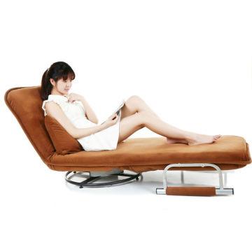 Cadeira dobrável de chão dobrável sofá-cama