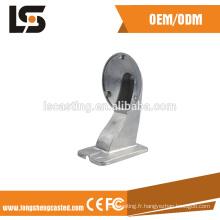 Accessoires de télévision en circuit fermé de moulage en matrice d'alliage d'aluminium d'OEM Supports de caméra de télévision en circuit fermé de produits de CCTV