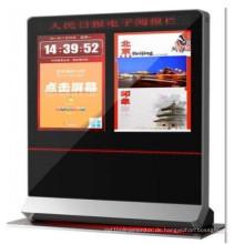 55 Zoll Doppel Seiten LCD Kiosk