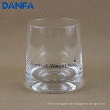 11oz / 330ml bedruckte Glasschale für Whisky