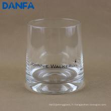11 oz / 330 ml Copie de verre imprimée pour Whisky
