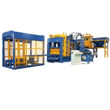 QTF10-15 automatische Betonschlacke, die Maschinenfertigungsstraße für Verkauf herstellt