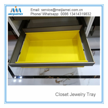 Factory Price for Best Bedroom Clothes Storage,Interior Wardrobe Storage Drawer, Shelf Wardrobe Storage, Drawer Divider, Drawer Clapboard Manufacturer in China Closet Custom jewerly tray supply to Spain Manufacturer
