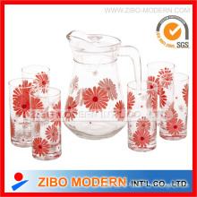 7PC Set Trinkglas