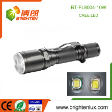 Factory Supply 1*18650 Lithium battery Powered Aluminium Long Range Multi-functional 10W Cree xml-2 t6 led Rechargeable Torch