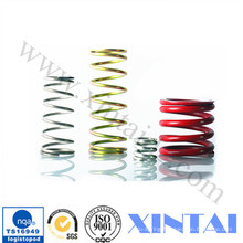White Color Code Music Wire Compression Mould Coil Spring