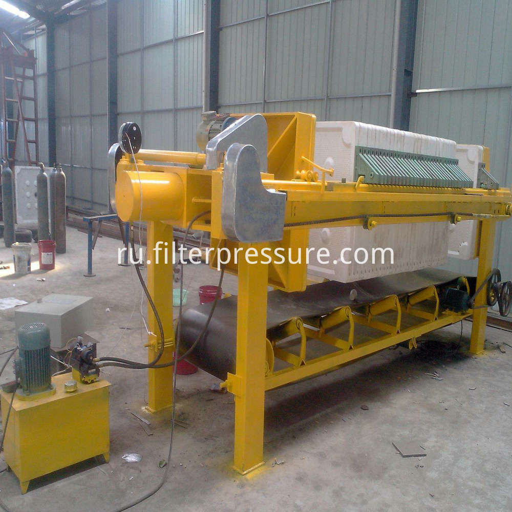 Filter Press With Convey Table