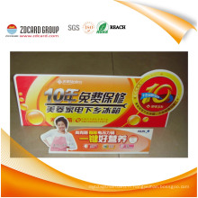 Panneau d'affichage en PVC personnalisé en usine