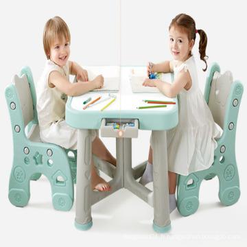 Maternelle professionnelle en plastique table de moulage table moule de tabouret pliant fabrique