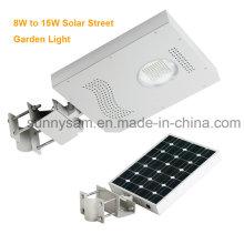 Alta Qualidade 8W a 15W LED Solar Street Light