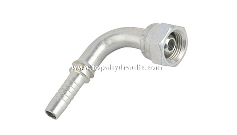 Hydraulic cylinder motor pump system fittings