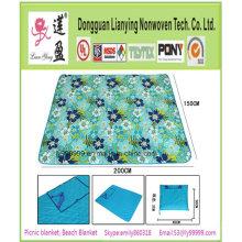 2015 buena calidad plegable impermeable manta de picnic