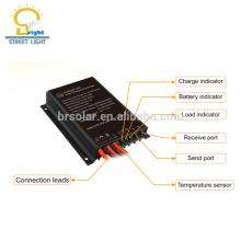 Controlador de luz solar digital inteligente 12V / 24V Stret
