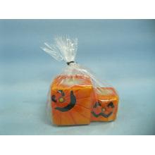Хэллоуин свеча формы керамических ремесел (LOE2371-9z)