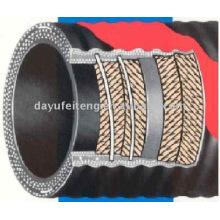 DN125 * 3M tuyau de caoutchouc de pompe à béton