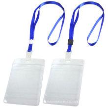 Alta Qualidade Personalizado ID Badge Holder Nylon Impresso Lanyard a Preço de Fábrica Da China
