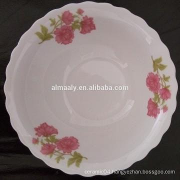 cut edge houseware ceramic bowl