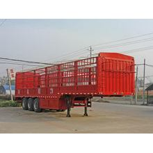 13m Tri-axle Bin Grid Type Semi Trailer