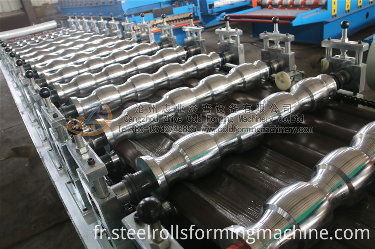 Glazed Roofing Tile Roll Forming