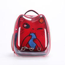 Cat Bag Outing Carrying Bag Space Capsule Pet Backpack Cat Cage Shoulder Transparent Cat School Bag